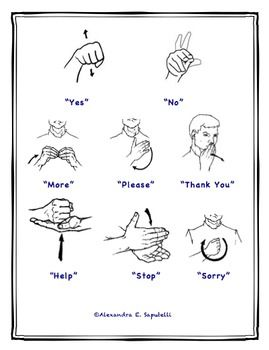 21 best Sign language and makaton images on Pinterest