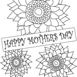 [free printable] coloring page for kids to make cards or