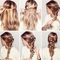 56 best images about Long Indian hairstyles step by step ...