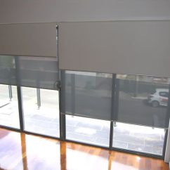 Bay Window Curtain Ideas Living Room Theaters Fau Tickets Double Roller Blinds, Holland Blinds Online, Dual ...