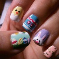 47 best images about Easter Nail Designs 2014 on Pinterest ...