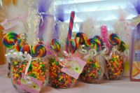 Candy themed baby shower giveaways   Party Ideas ...
