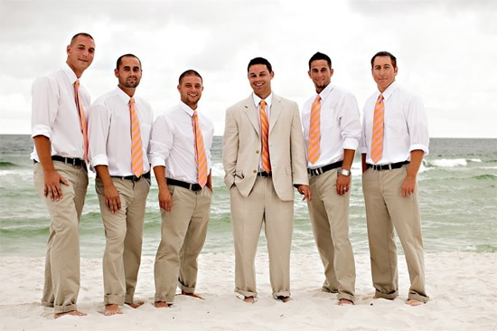 grooms wear for beach wedding | Wedding Time! / Groom & Groomsmen Beach