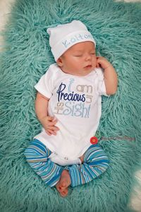 Personalized Boys Coming Home Oufit, Take Home From
