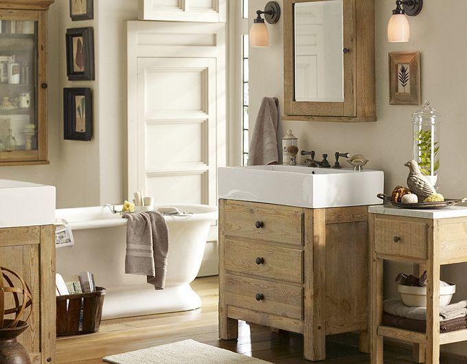 1000 ideas about Barn Bathroom on Pinterest  Pottery barn bathroom Handmade bathroom