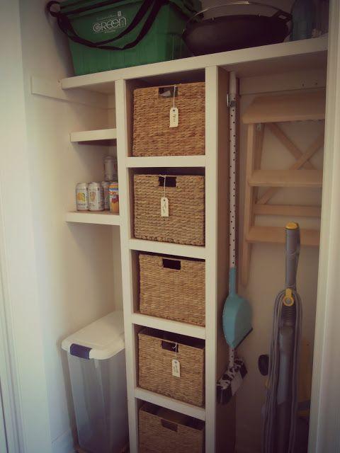 utility closet storage  Home Decor