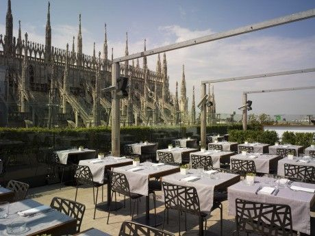 La Rinascente Restaurant  Spectacular views of the