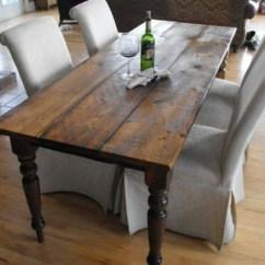Desk Chair Kijiji Ottawa Organizer Pockets Harvest Table With Parsons Chairs.   My Favorite Stuff Pinterest Dark Wood, Tables ...