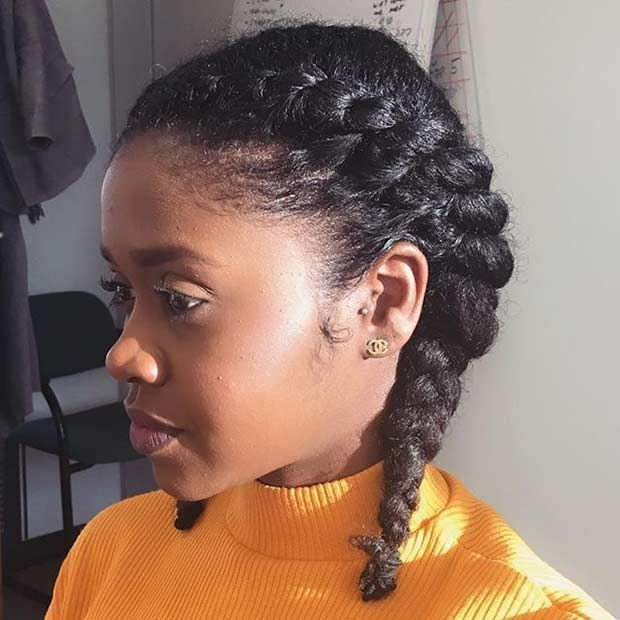 25 Best Ideas About Natural Twist Hairstyles On Pinterest