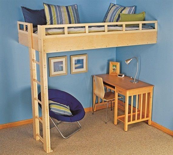 24 best images about Loft Bed Plans on Pinterest