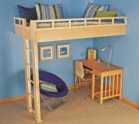 24 best images about Loft Bed Plans on Pinterest | Loft ...