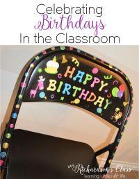 25+ best ideas about Classroom birthday on Pinterest ...