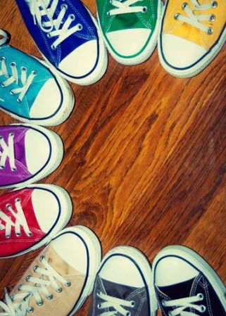 Converse colors by pinterest