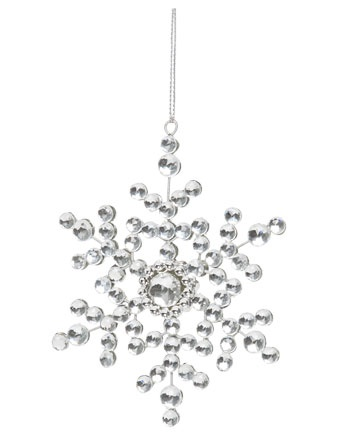 348 best images about Beaded Snowflakes on Pinterest