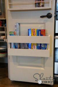 17 Best ideas about Behind Door Storage on Pinterest ...