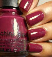 china glaze - dirty cherry berry