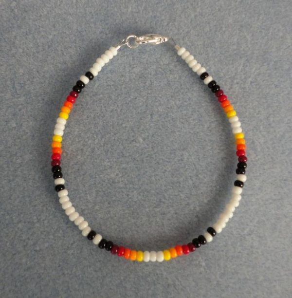 native american Iroquois bead work native american