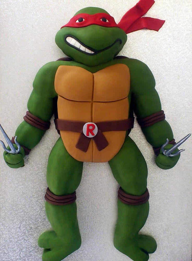 Ninji Turtle Cakes Teenage Mutant Ninja Turtle Raphael Novelty Cake Susies Cakes Recipes