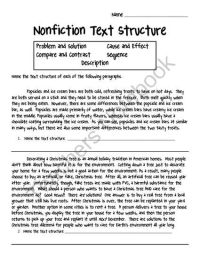 25+ best Text structure worksheets ideas on Pinterest ...