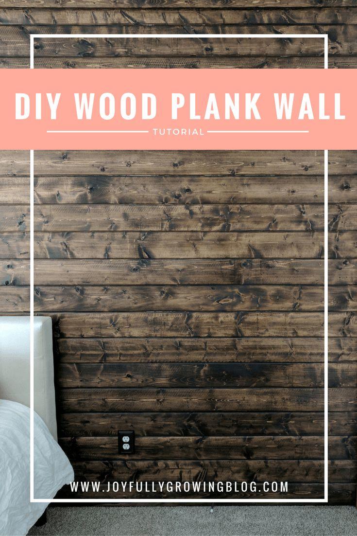 25+ best ideas about Wood plank walls on Pinterest