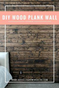 25+ best ideas about Wood plank walls on Pinterest | Plank ...