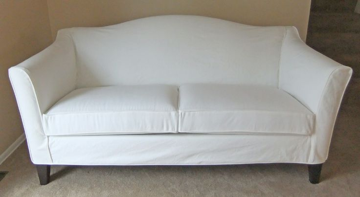 white denim sofa covers sets in hyderabad online custom-made brushed dockside slipcover for new ethan ...