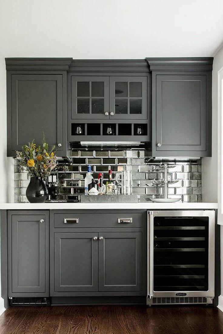 25 best ideas about Gray Kitchen Cabinets on Pinterest  Grey kitchen paint inspiration Grey
