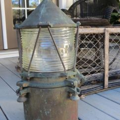 Light Grey Living Room Decor What Colour Curtains In U S Coast Guard Lighthouse Bronze Brass Buoy Navigation ...