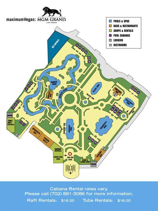 MGM Grand Hotel  Casino Grand Pool Complex Check out