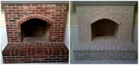 Painting your brick fireplace with Brick-Anew is a step-by ...
