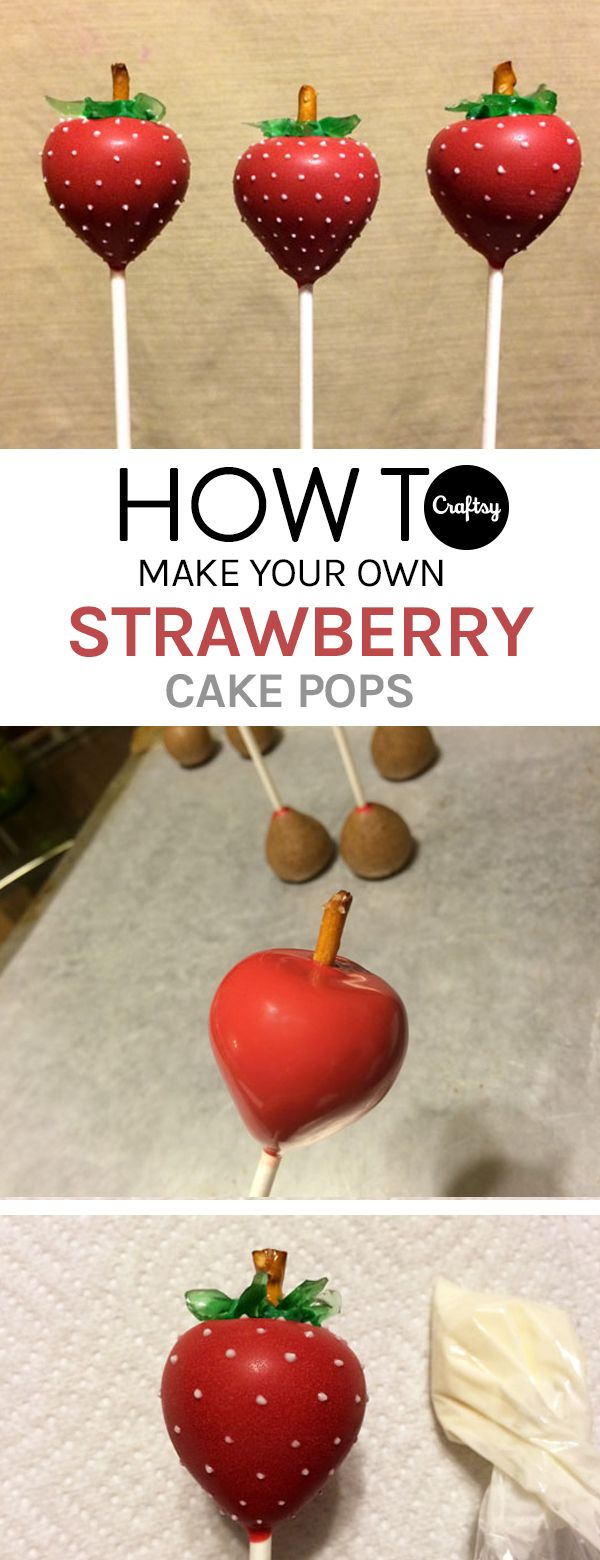 17 Best ideas about Strawberry Cake Pops on Pinterest  Cake pops near me Pink desserts easy