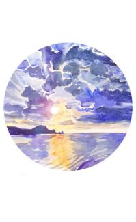 1000+ ideas about Sunset Paintings on Pinterest