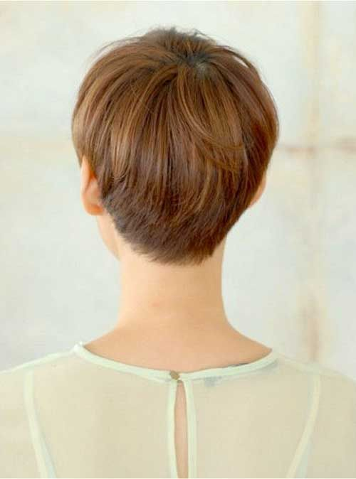 25 best ideas about Pixie back view on Pinterest  Pixie back Pixie haircuts and Pixie cut back