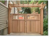 25+ best ideas about Wood fence gates on Pinterest