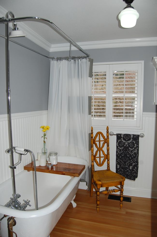 25 Best Ideas About Clawfoot Tub Shower On Pinterest
