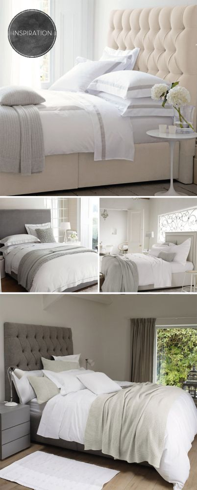 17 Best Ideas About Grey Upholstered Headboards On Pinterest Coral Bedroom Cosy Bedroom And