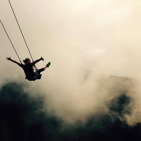 Swing in the air