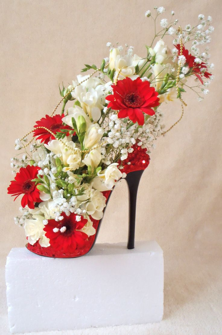 Beautiful Shoe Designused As Wedding Displayin Different