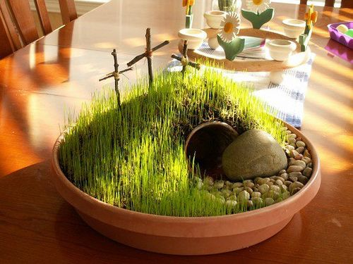 The 25 Best Ideas About Easter Garden On Pinterest Jesus Tomb