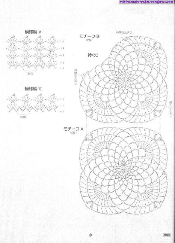 41 best images about Crochet Diagrams on Pinterest
