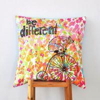 Kids Pillow, Multicolor Decorative Pillows, Hipster ...