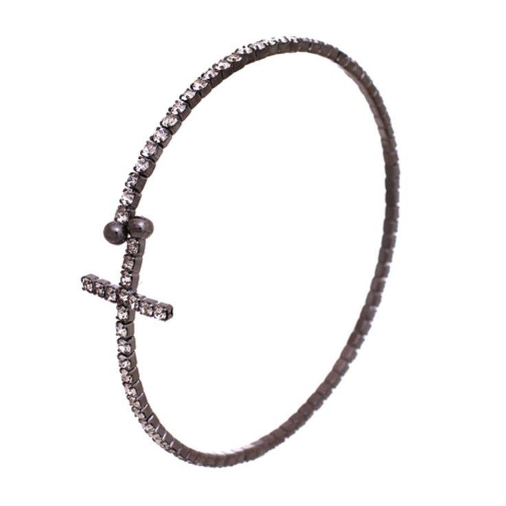 1000+ ideas about Sideways Cross Bracelets on Pinterest