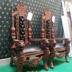 Black Gothic Throne Chair Outdoor Cushions Clearance 17 Best Ideas About King On Pinterest   Chair, And King's