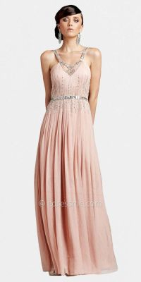 Delicate Chiffon Beaded Vintage Inspired Prom Dresses by ...