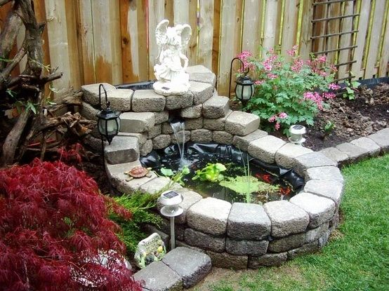 25 Best Ideas About Small Backyard Ponds On Pinterest Small