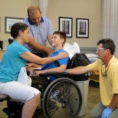 Wheelchair Yoga Poses Posture Pack Seat Wedge Barbara Crume, Pt, Atp And Clinic Seating Mobility Specialist, Works With National ...