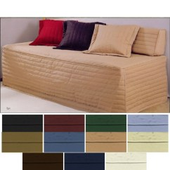 Daybed Sofa Slipcover Hamilton Leather West Elm Fitted Covers - Cotton Duck Fabric And ...