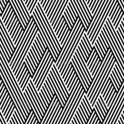 pattern in zigzag with line black