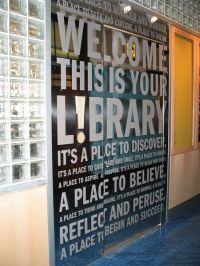 Elementary School Library Decorations | Ideas for my ...