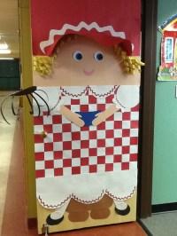 Little Miss Muffet | Door Decor | Pinterest | Class door